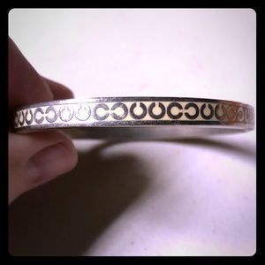 Coach signature bangle